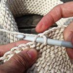 tricoter avec un crochet le point triple
